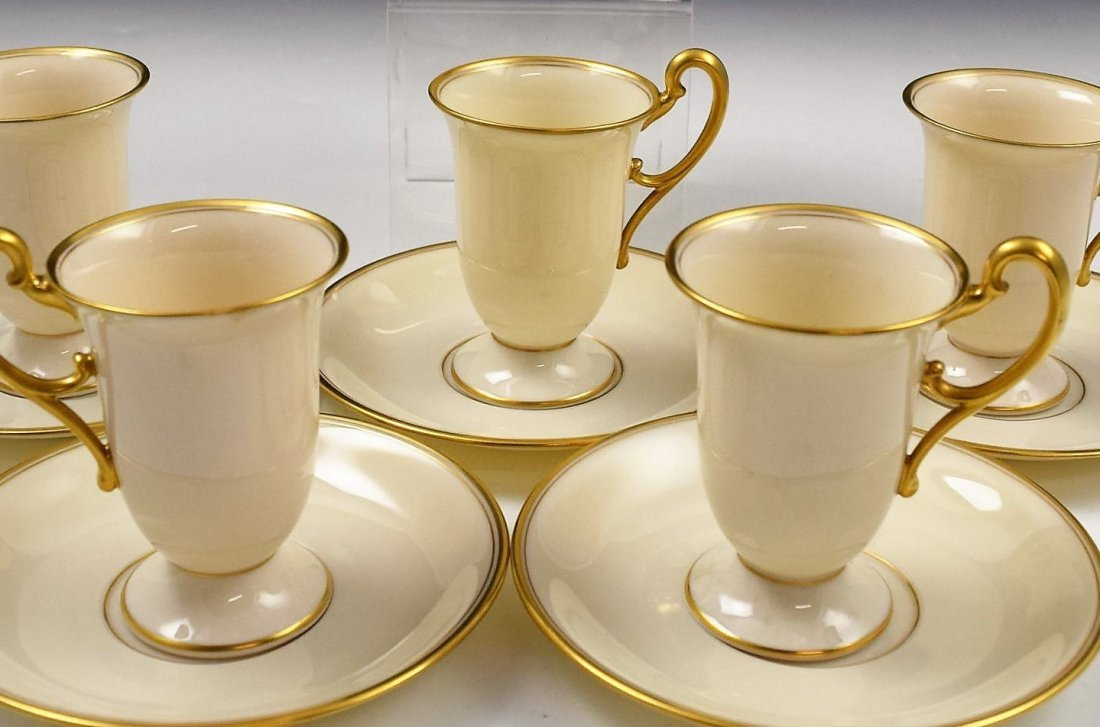 Tiffany & Co Lenox Cups and Saucers Set - 2