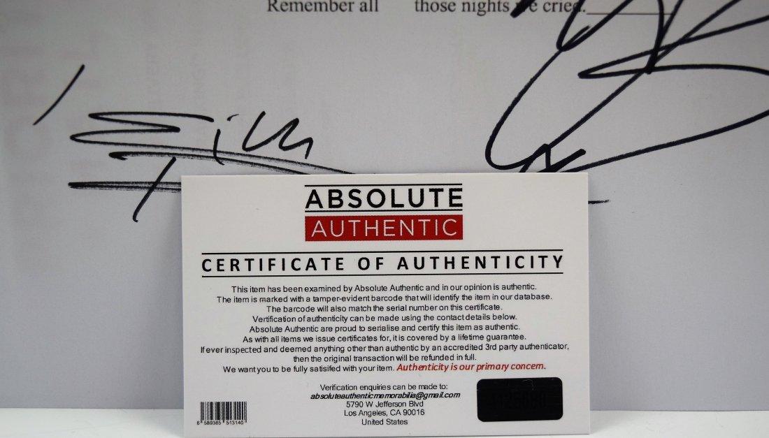 Rolling Stones Autograph Music Sheet - 4