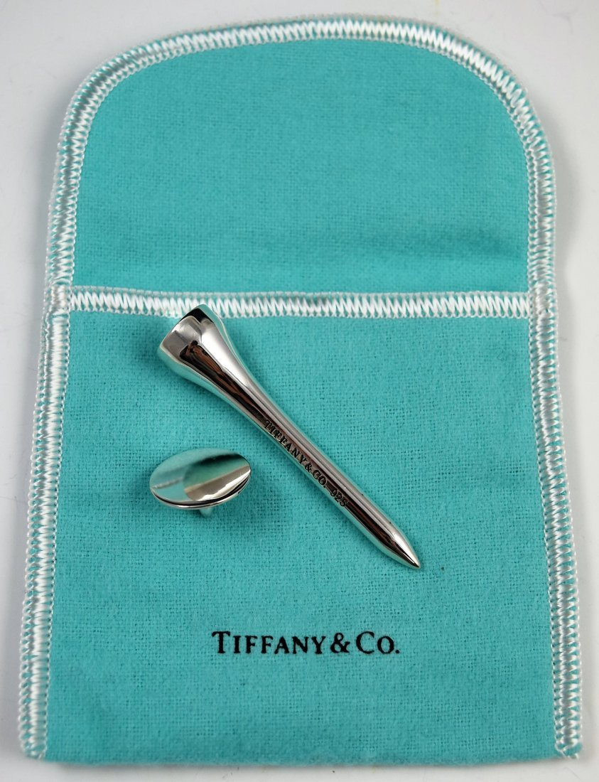 Tiffany & Co Sterling Silver Golf