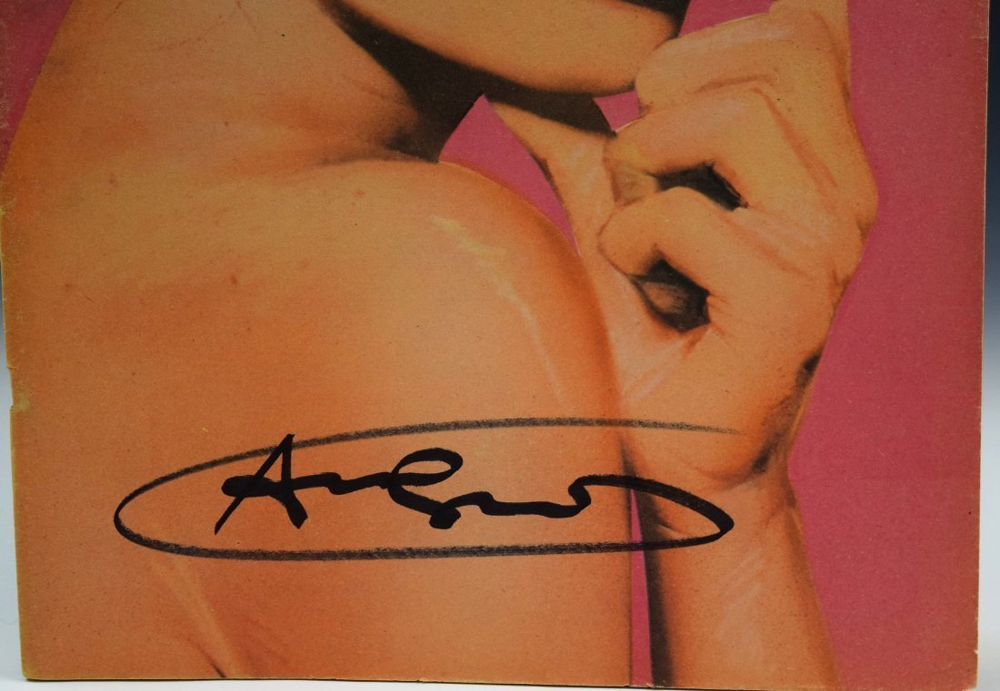 Andy Warhol Signed Interview Magazine - 2