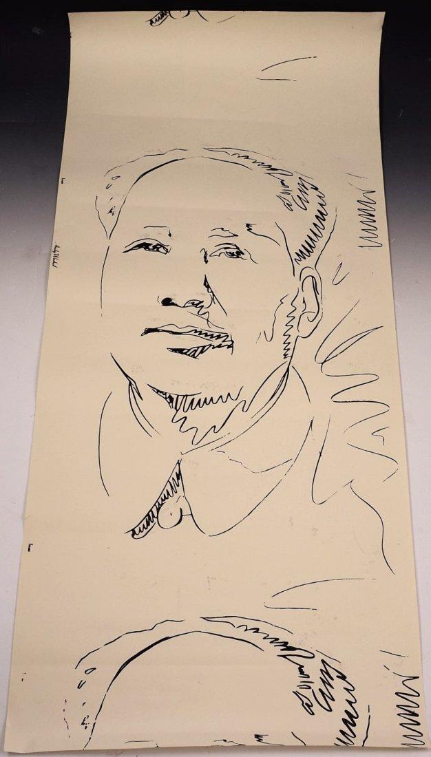 Andy Warhol Mao Screenprint