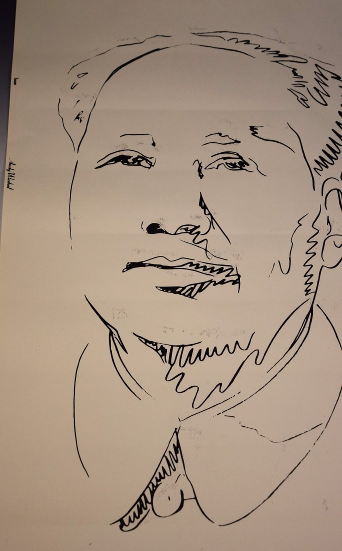 Andy Warhol Mao Screenprint - 2
