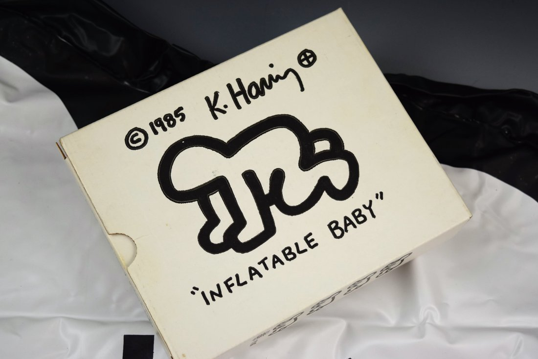 Keith Haring Inflatable Crawling Baby - 2