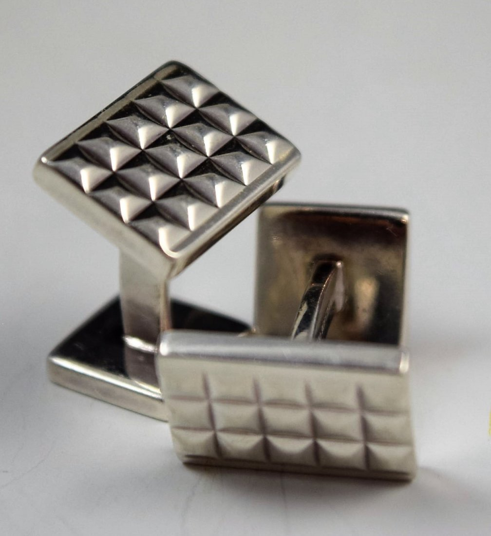 Tiffany & Co Sterling Silver Cufflinks