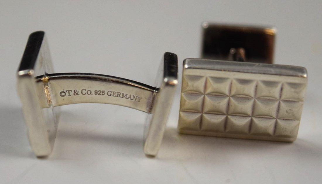 Tiffany & Co Sterling Silver Cufflinks - 2