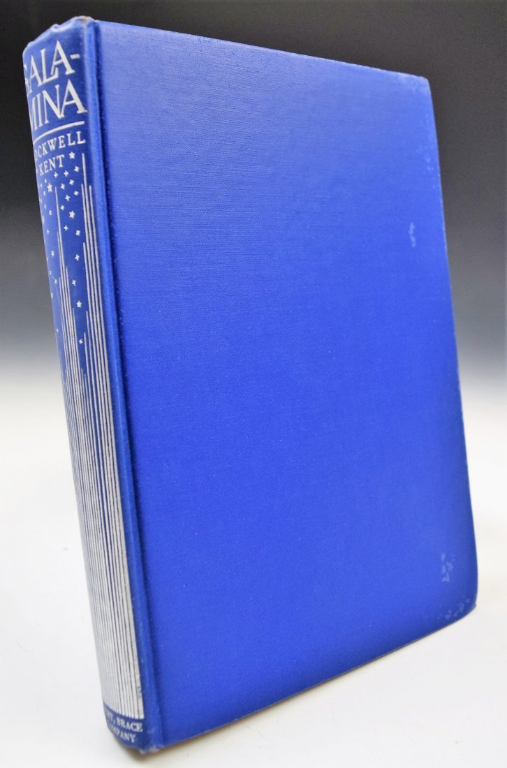 Rockwell Kent Signed Book