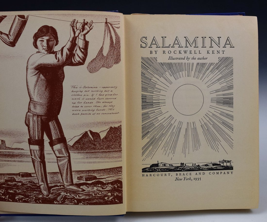 Rockwell Kent Signed Book - 3