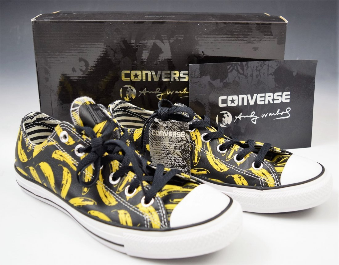 Andy Warhol Converse Sneakers