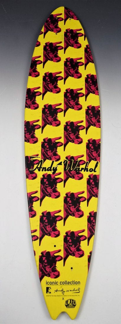 After Andy Warhol Skateboard Deck