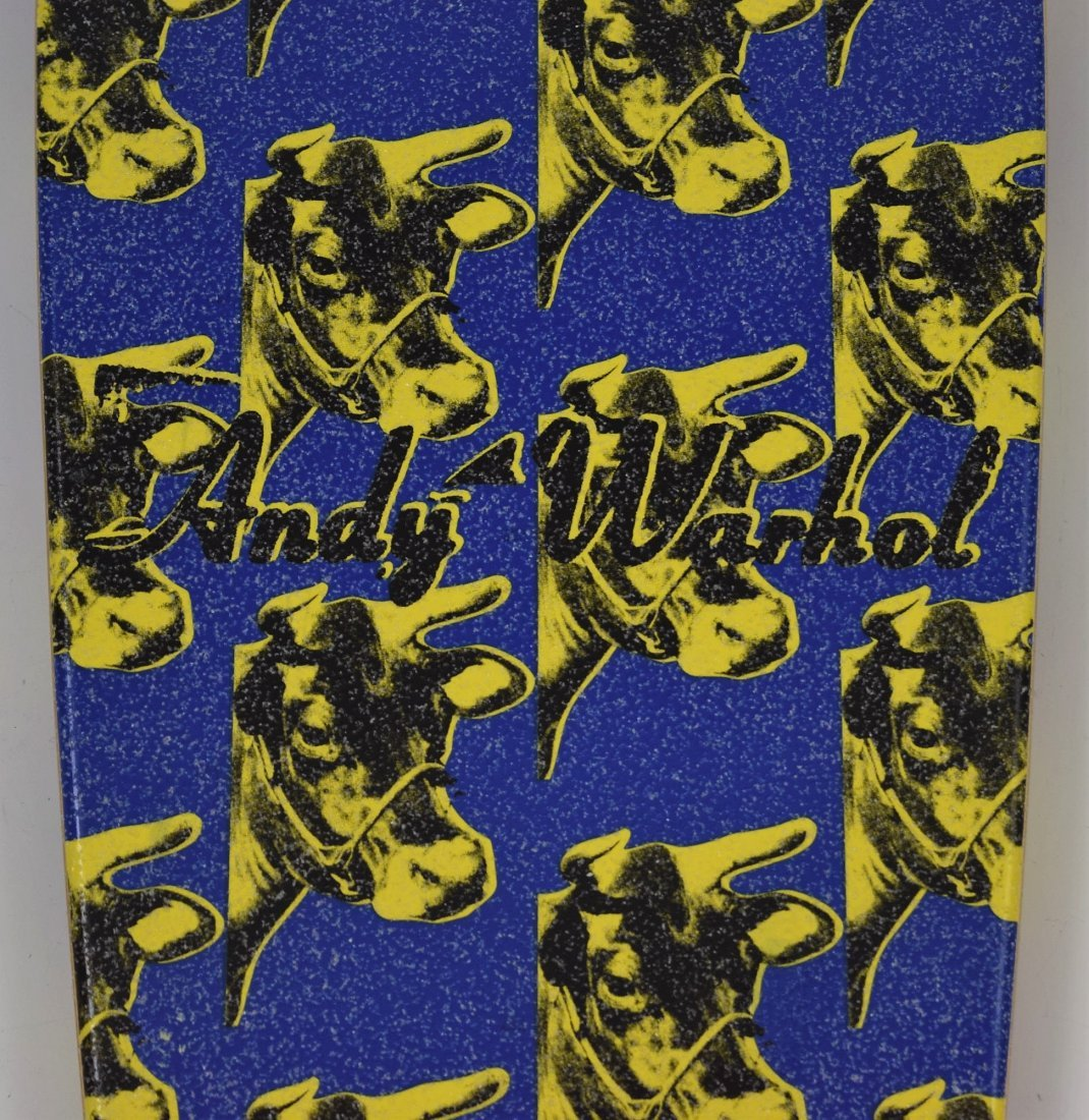 After Andy Warhol Skateboard Deck - 3
