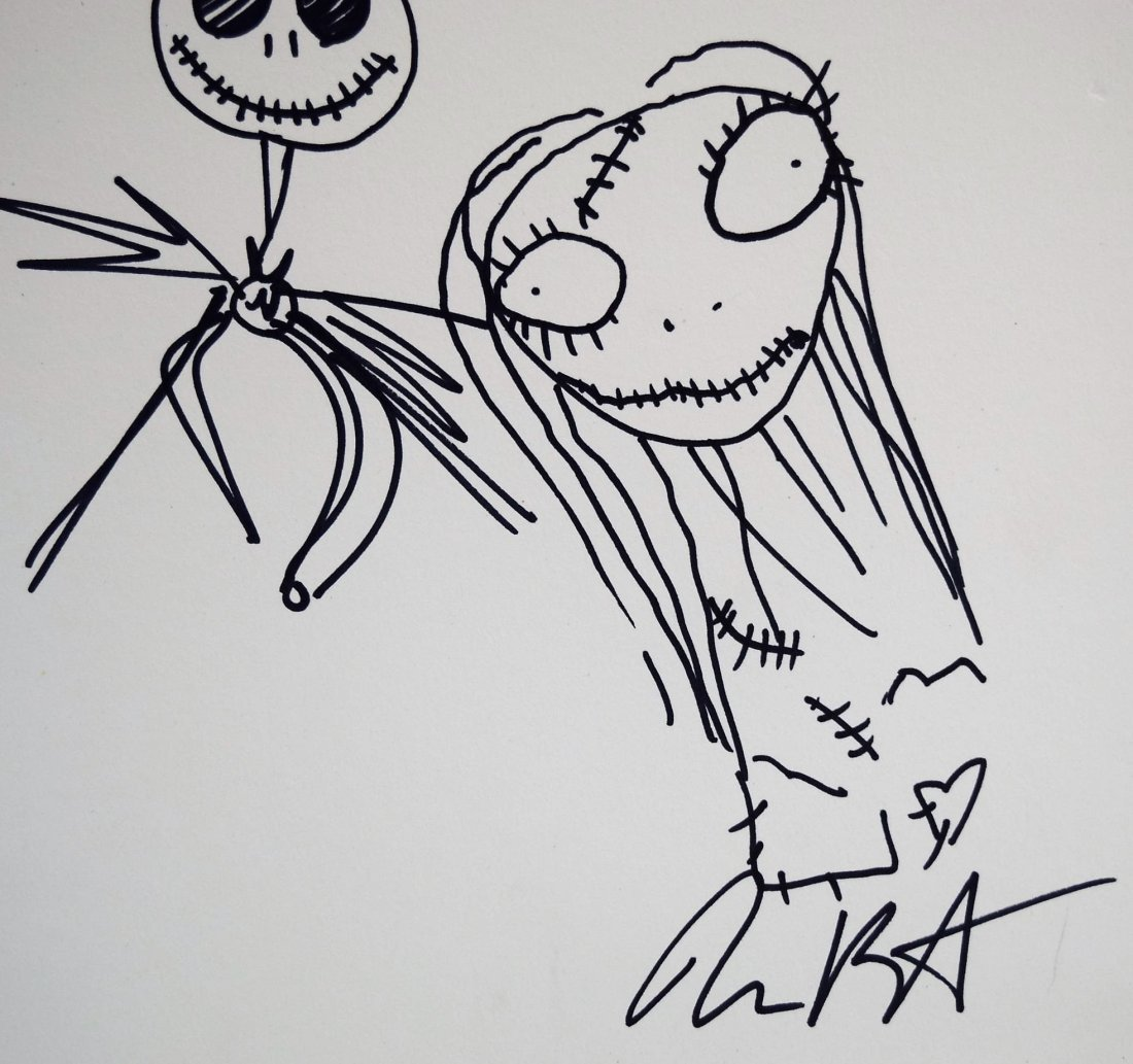 Tim Burton Drawing - 2