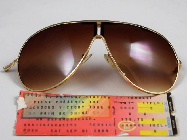 Michael Jackson Stage Worn Sunglasses