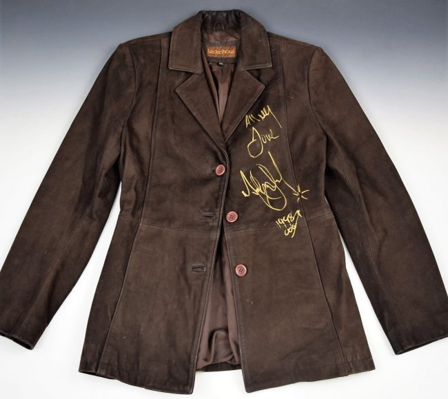Michael Jackson Signed Jacket