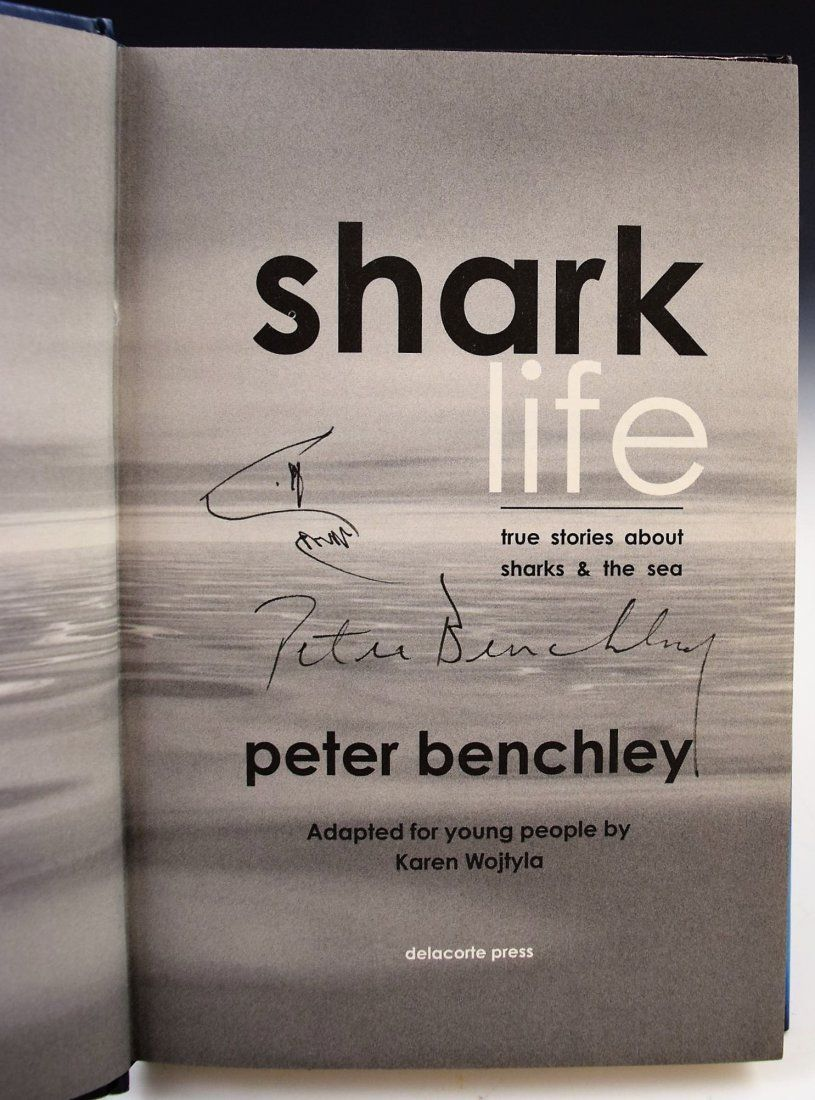 Peter Benchley Drawing