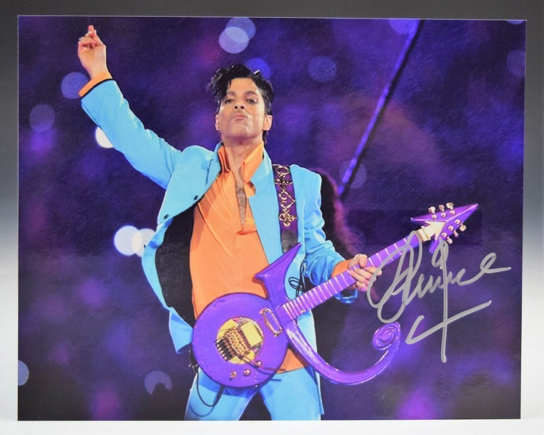 Prince Signed Photograph