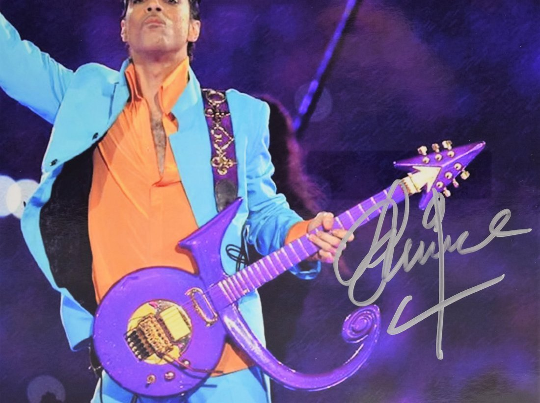 Prince Signed Photograph - 2