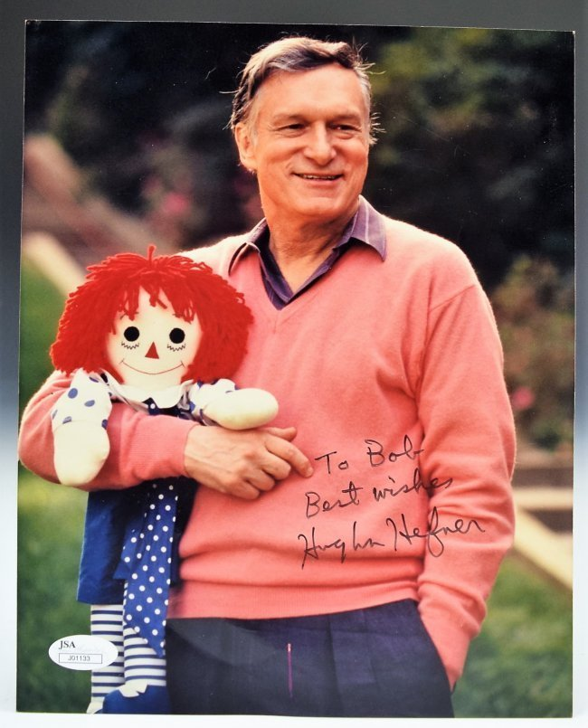 Hugh Hefner Signed Photograph