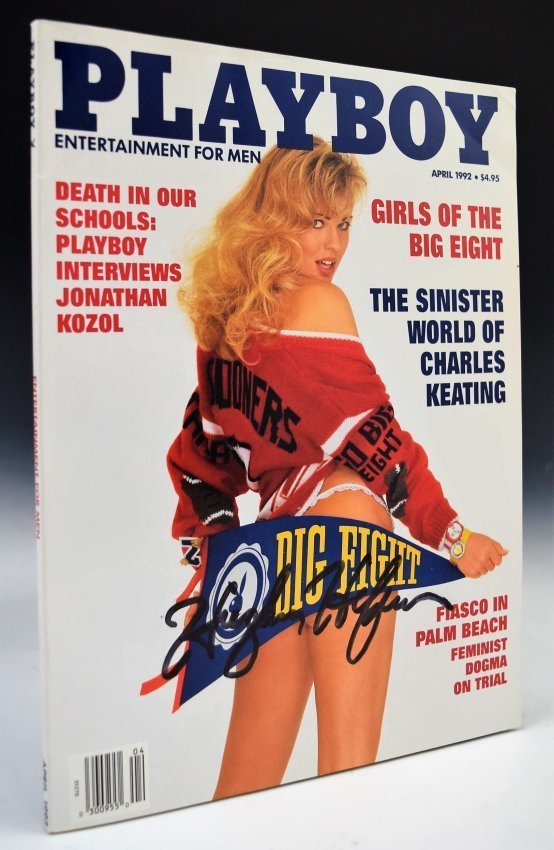 Hugh Hefner Signed Playboy Magazine - 3