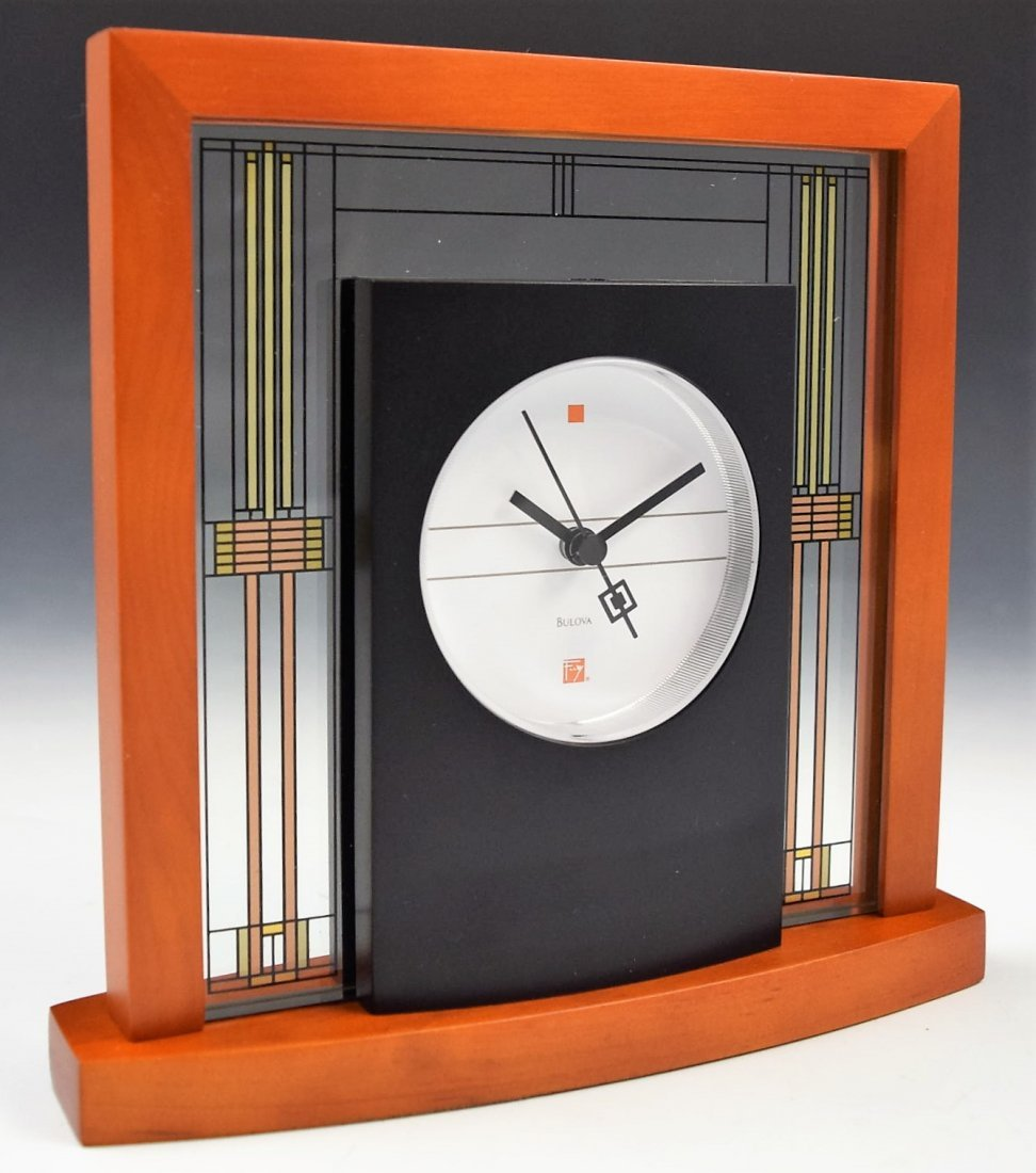 Frank Lloyd Wright Clock