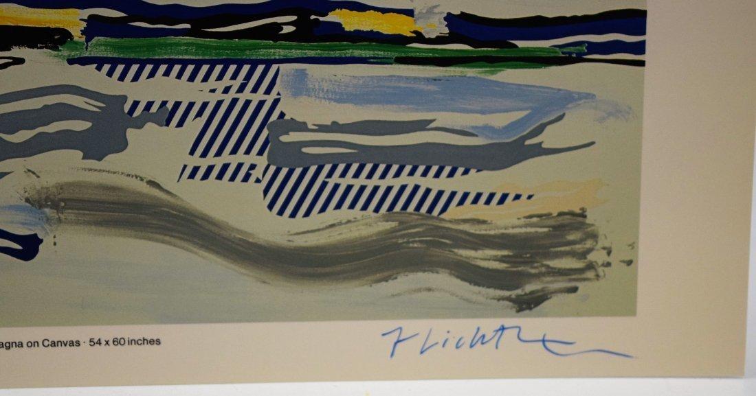Roy Lichtenstein Signed Lithograph - 2