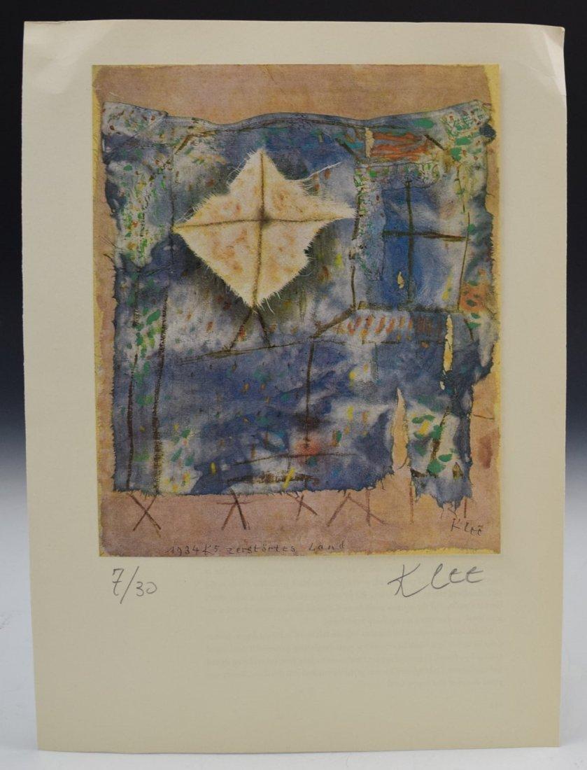 Paul Klee Signed