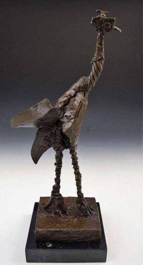 After Pablo Picasso Bronze Sculpture