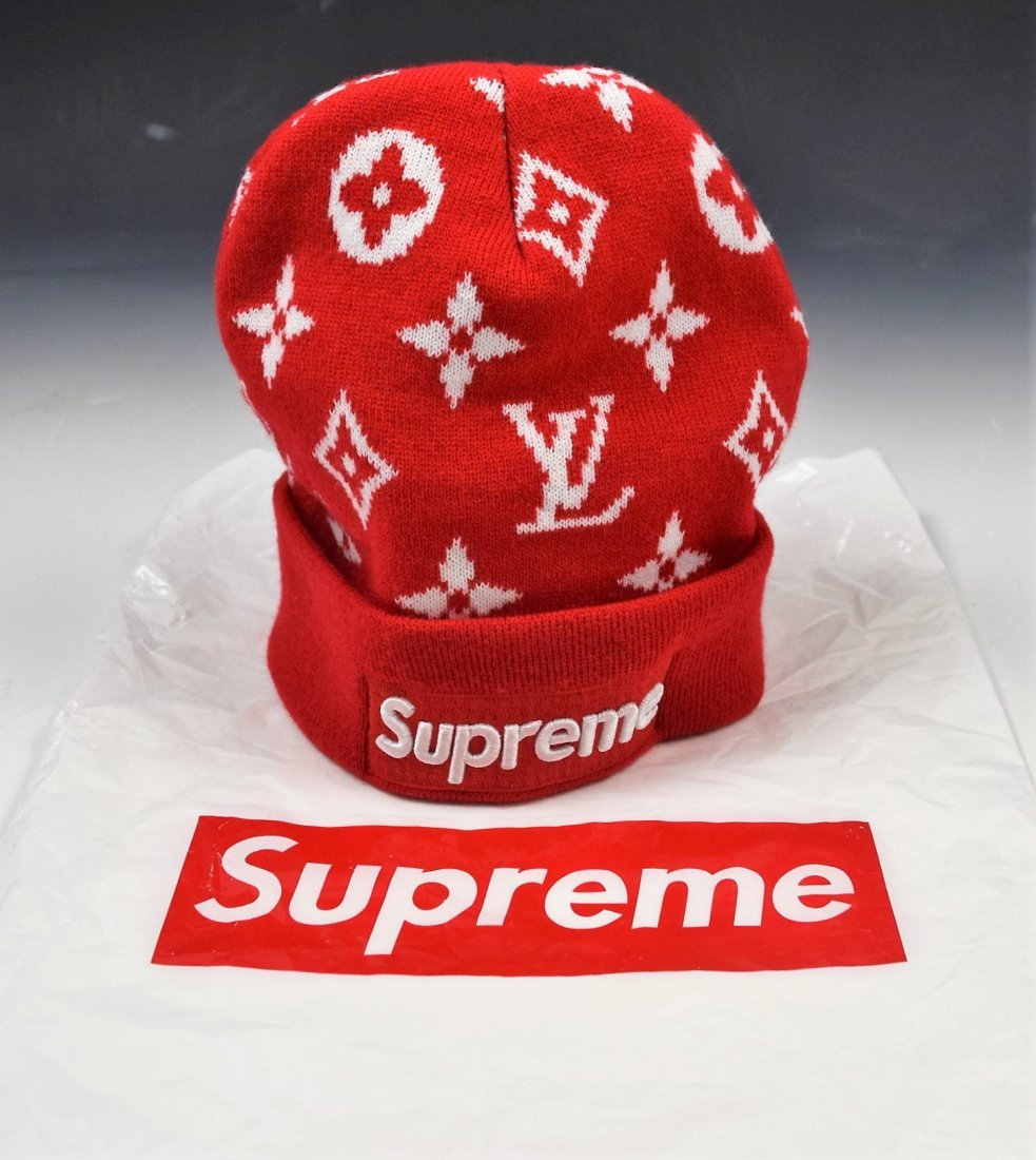 Louis Vuitton Supreme Cap