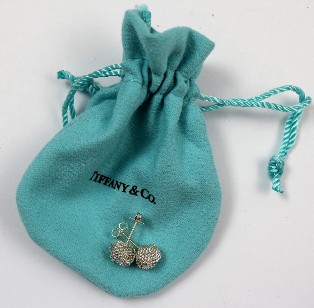 Tiffany & Co Sterling Silver Earrings