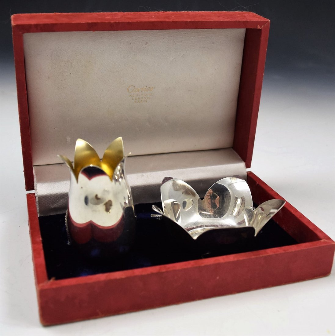 Cartier Sterling Silver Set