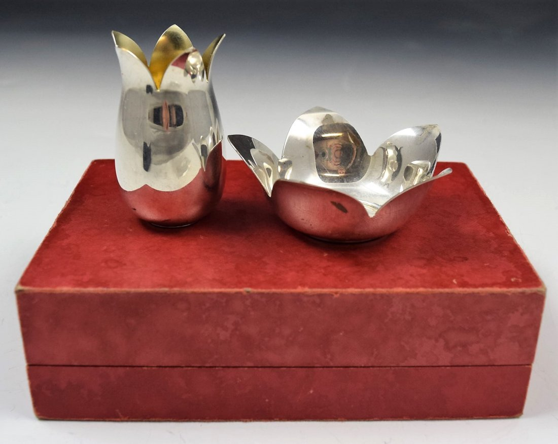 Cartier Sterling Silver Set - 2