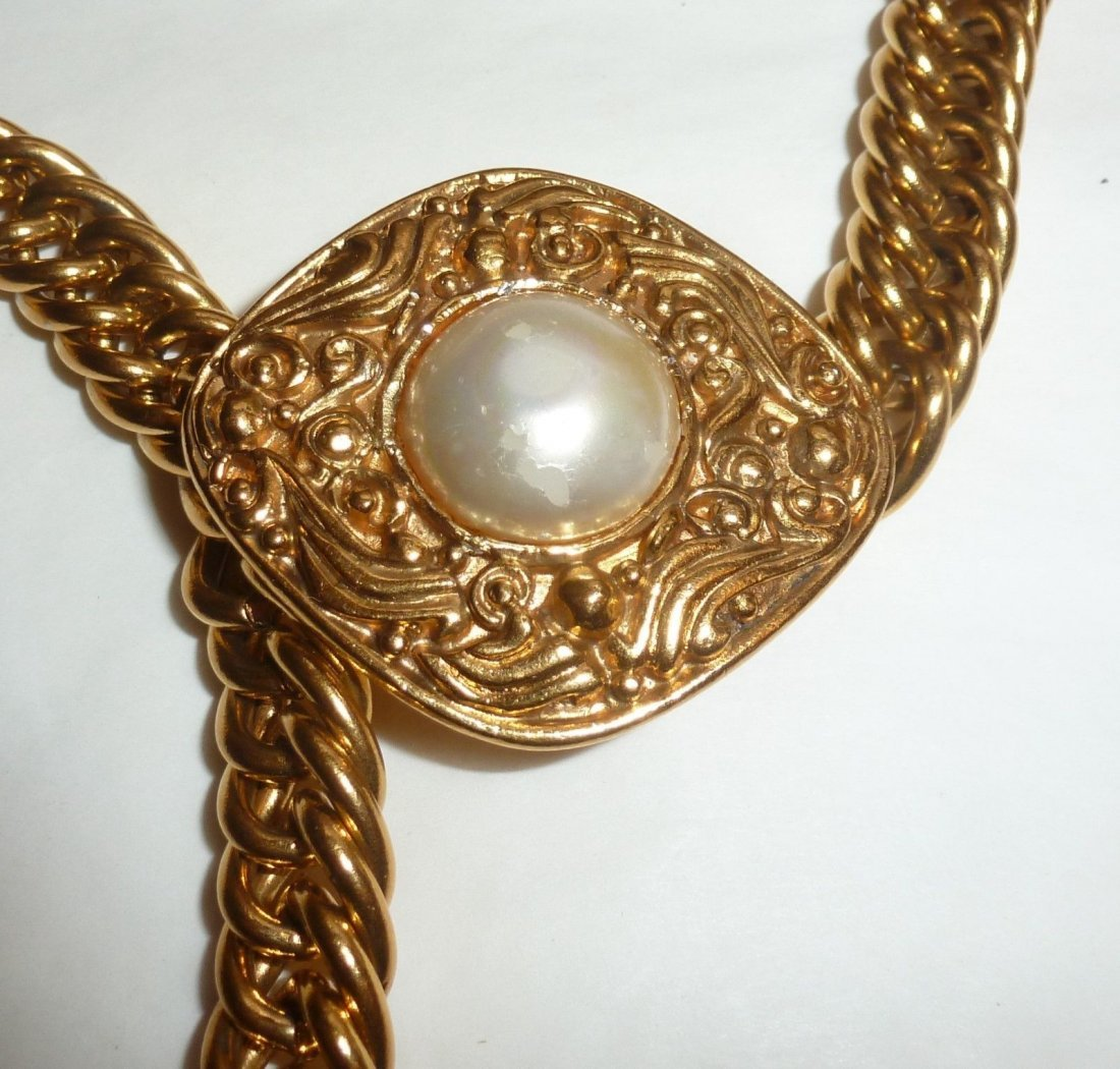 Vintage Chanel Chain Belt - 2