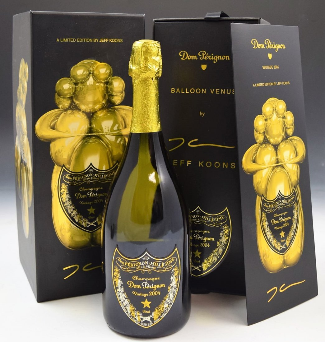 Dom Perignon Limited Edition by Jeff Koons 2004