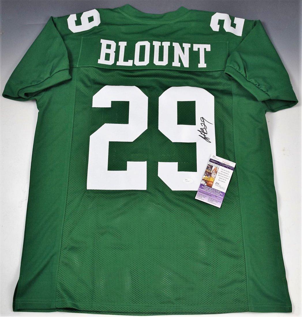 Legarrette Blount Signed Eagles Jersey