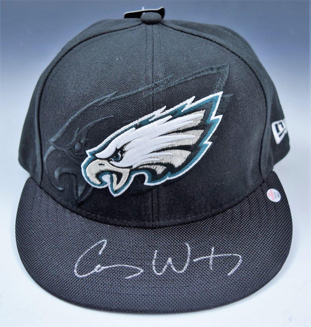 Carson Wentz Signed Eagles Hat