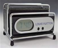 Louis Vuitton Desk Clock