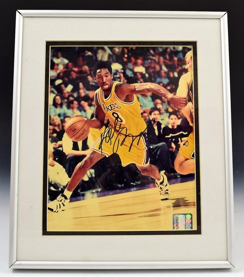 Kobe Bryant Signed Photograph