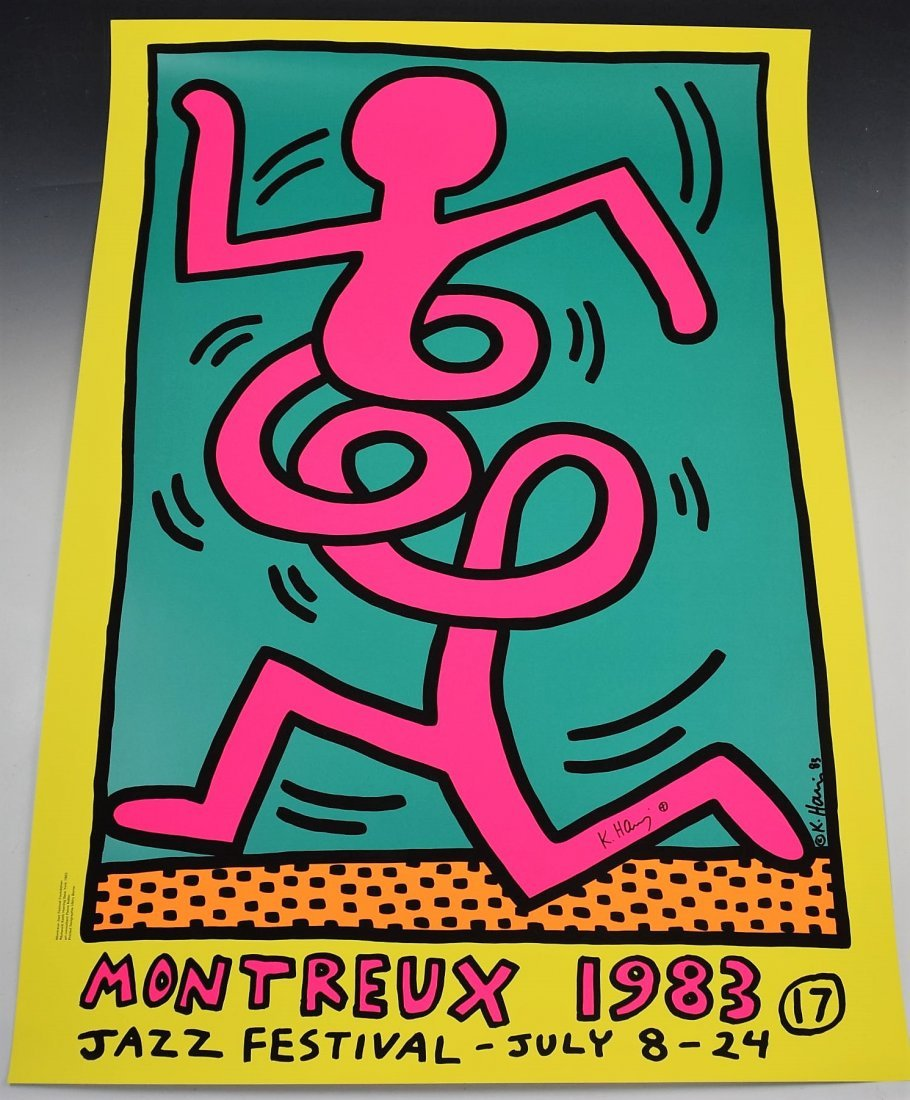 Keith Haring Signed