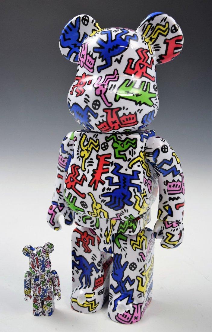Keith Haring Bearbrick Figure Set