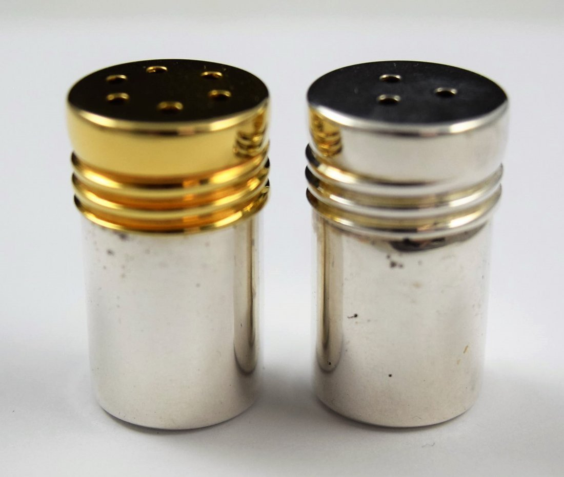 Tiffany & Co Sterling Silver Salt and Pepper Set