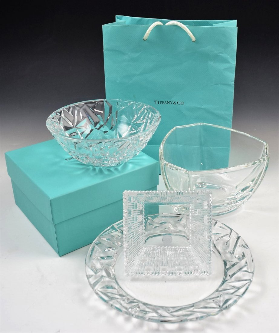Tiffany & Co Crystal Set