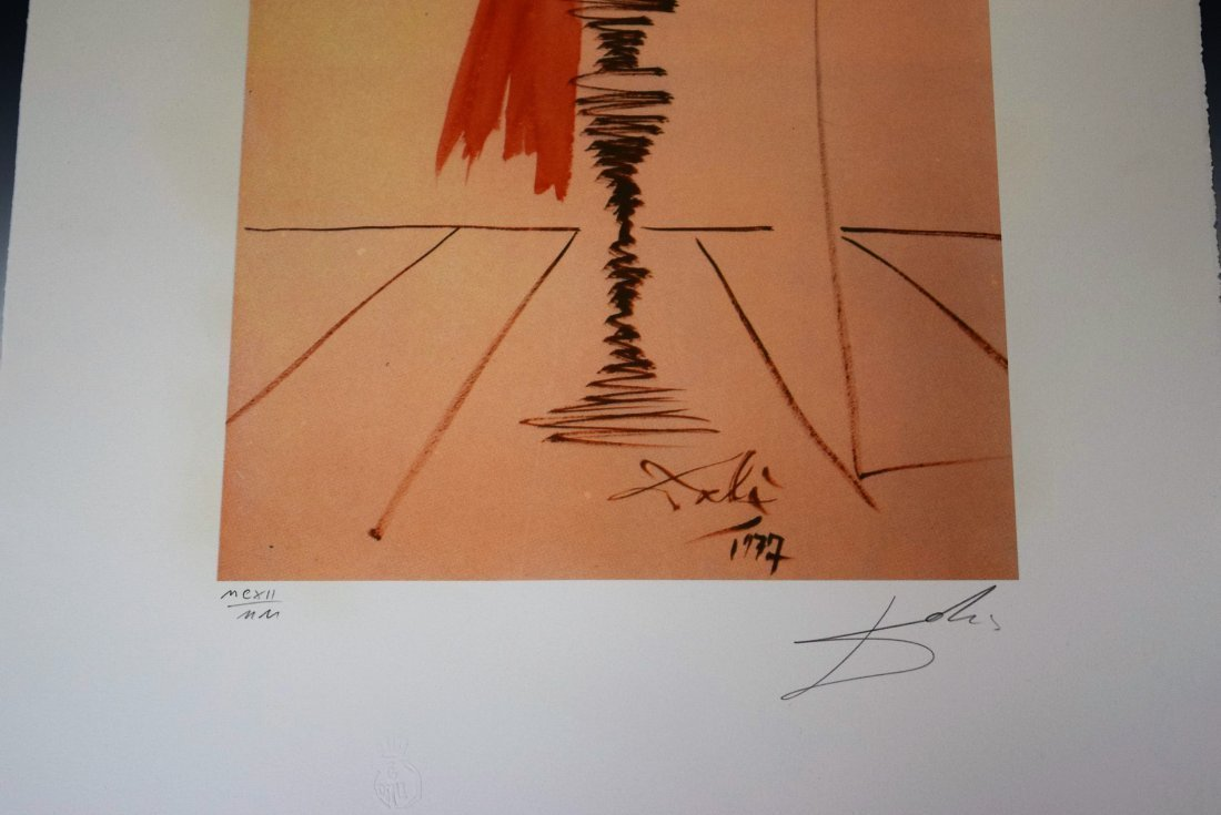 Salvador Dali Signed Lithograph - 3
