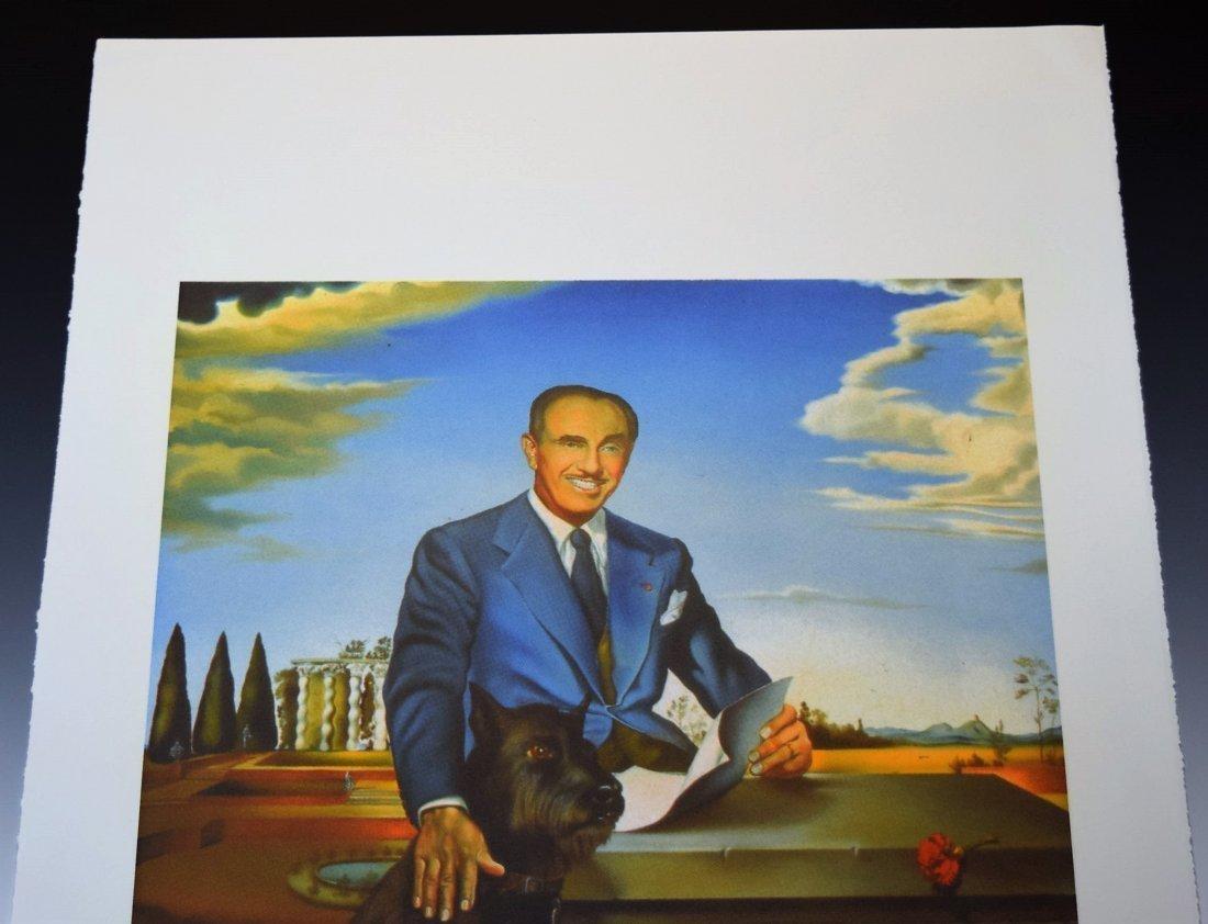 Salvador Dali Signed Lithograph - 2