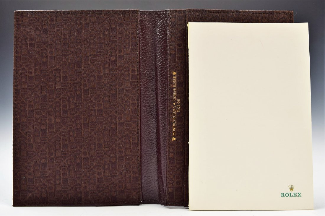 Rolex Leather Notebook - 2