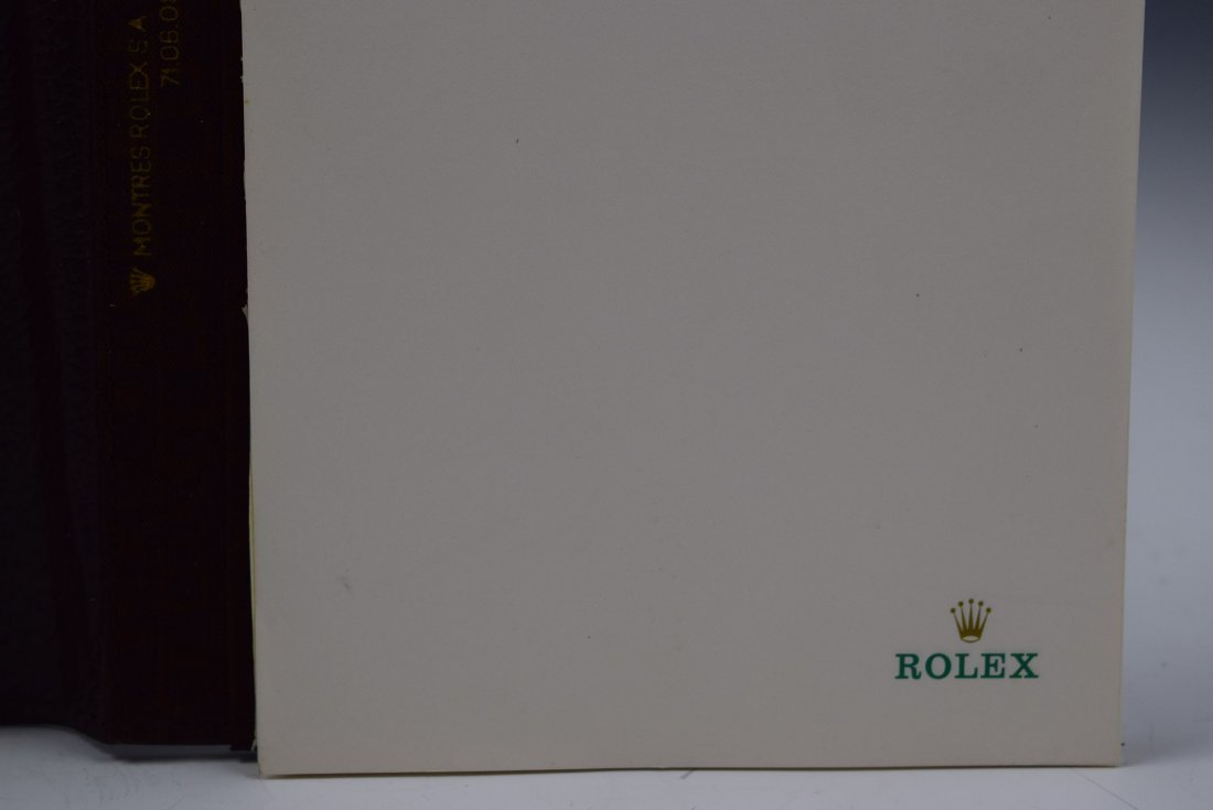 Rolex Leather Notebook - 3