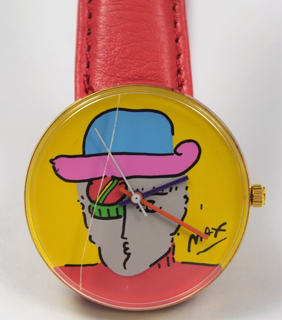 Peter Max Collectible Watch - 2