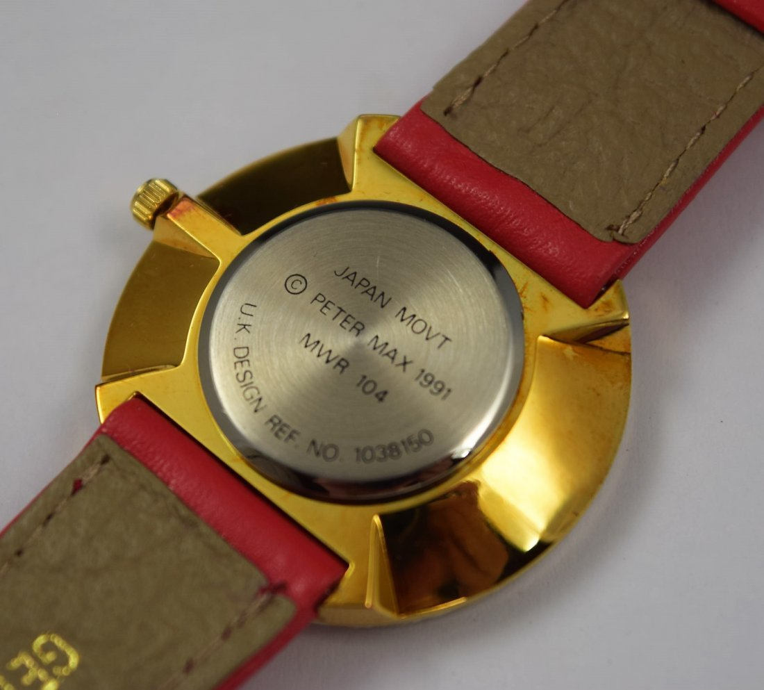 Peter Max Collectible Watch - 3