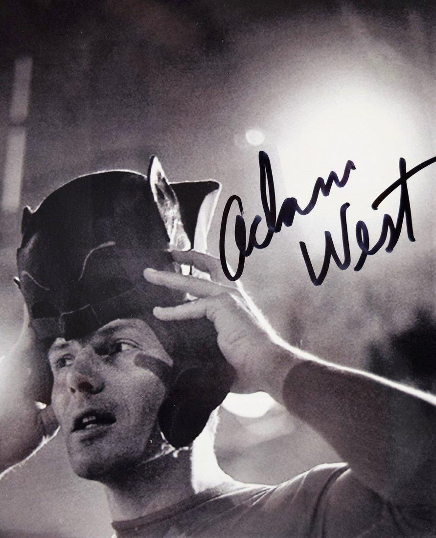 Adam West Signed Photograph - 2