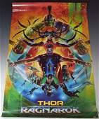 Thor Ragnarok Cast Signed Movie Poster