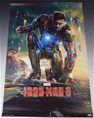 Iron Man 3 Cast Signed Movie Poster