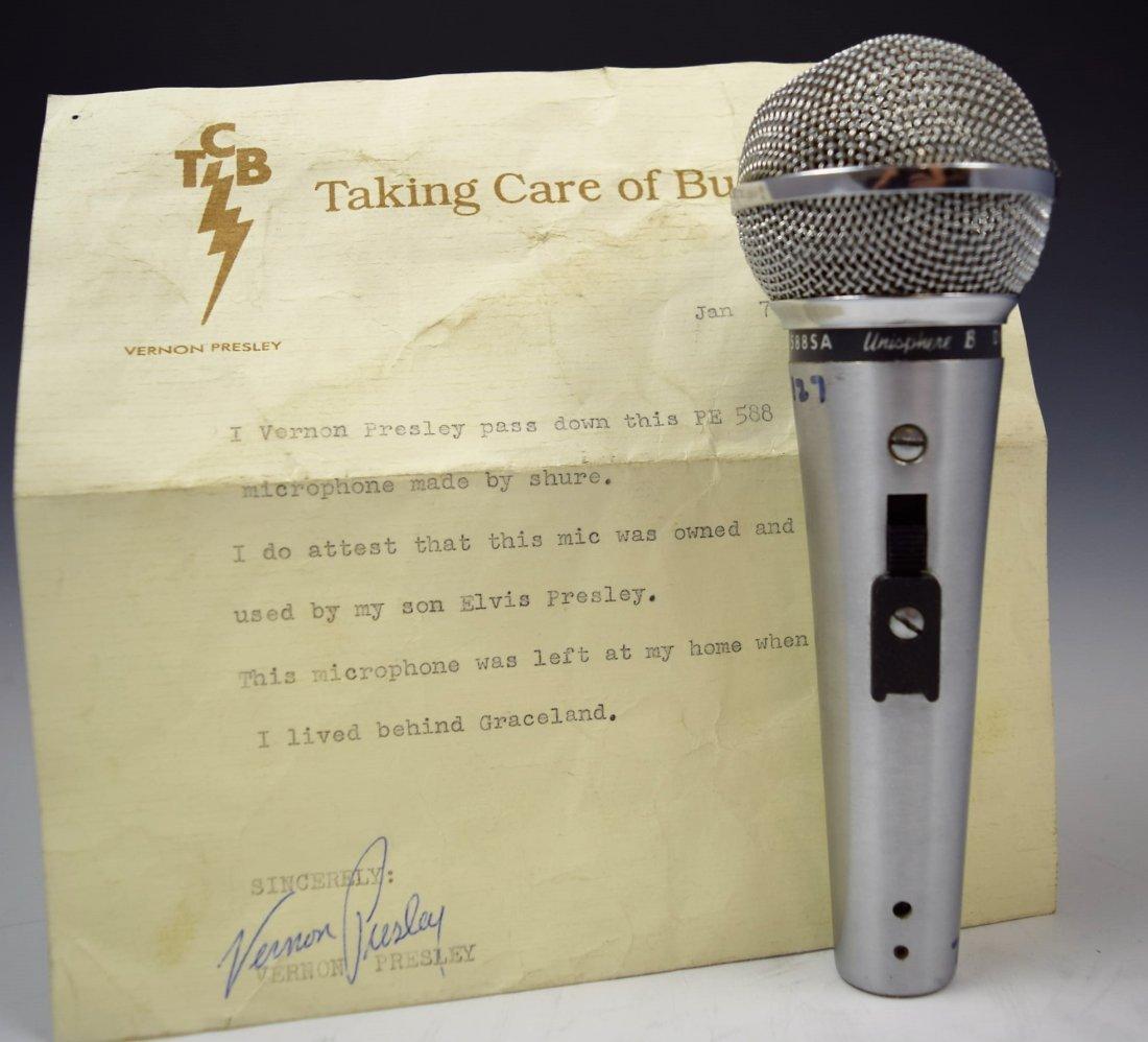 Elvis Presley's Personal Microphone